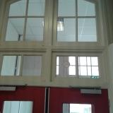 Nieuwe kozijnen Werkman College Groningen